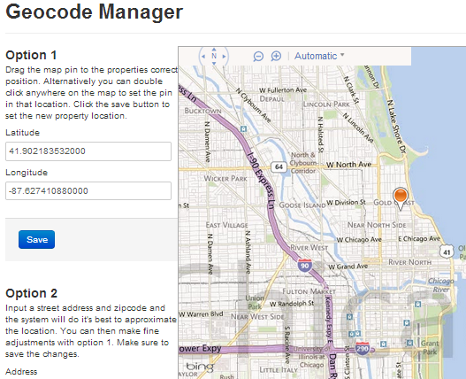 Geocode Manager for IDX Broker Platinum Listing Details