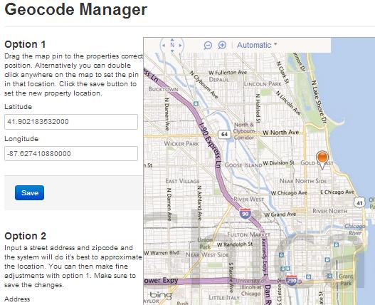 Geocode Manager for IDX Broker Platinum Listing Details
