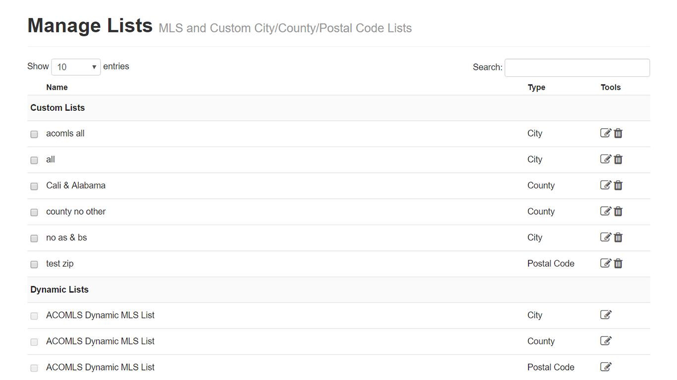 IDX Broker Platinum and IDX Broker Lite - Add Custom Names to City Lists