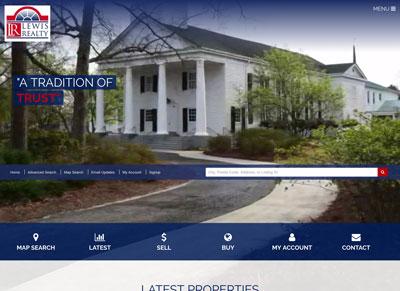 Lewis Realty, Cheraw, Hartsville, Mount Croghan, South Carolina