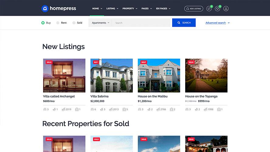 Homepress by Stylemix Theme